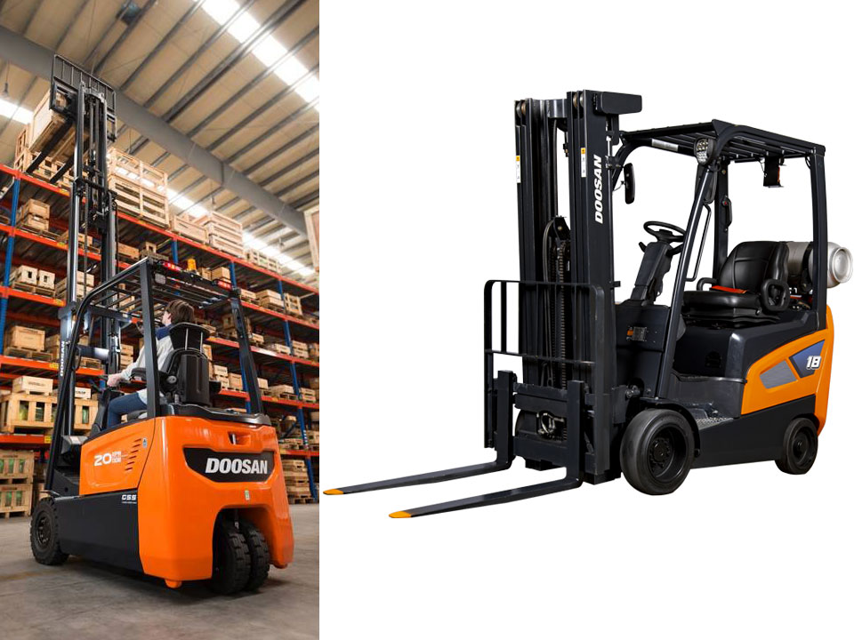 Pittsburgh Doosan forklift sales repair and service