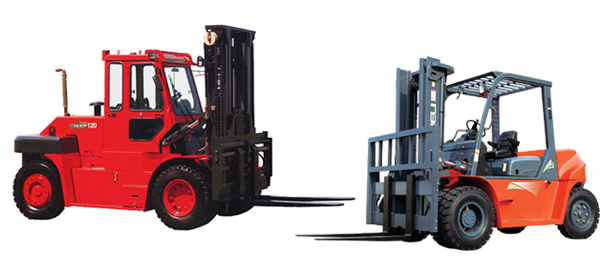 High capacity lifts trucks from Langer Material Handling