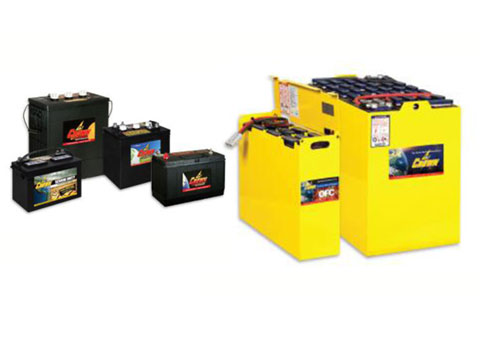Forklift and industrial batteries and chargers