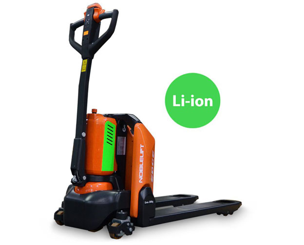 New Lithium Ion powered pallet jacks for sale