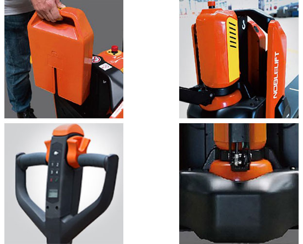 NOBLELIFT Lithium Ion Powered electric pallet jacks for sale