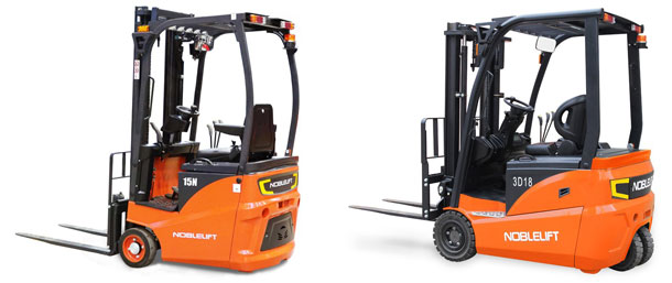 New electric forklift sales