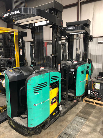 Used Walkie Stackers at Langer Material Handling